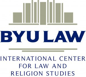 BYU Law international center for law and religion studies logo