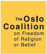 the oslo coalition on freedom of religion or belief logo