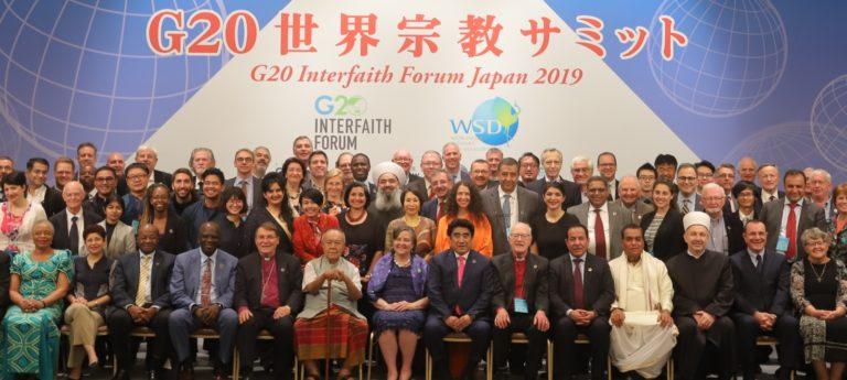 G20 Interfaith Forum Japan 2019